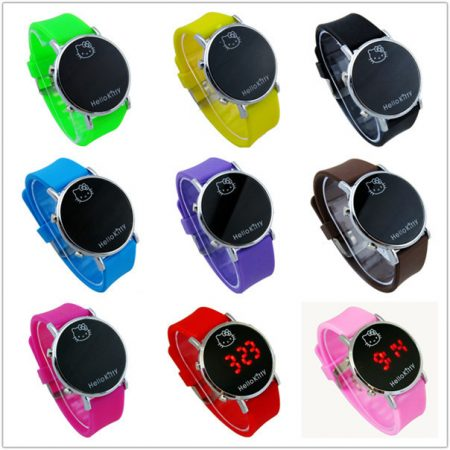 hot-sale-fashion-cartoon-watch-hello-kitty-watches-for-girls-kid-children-casual-silicone-digital-led